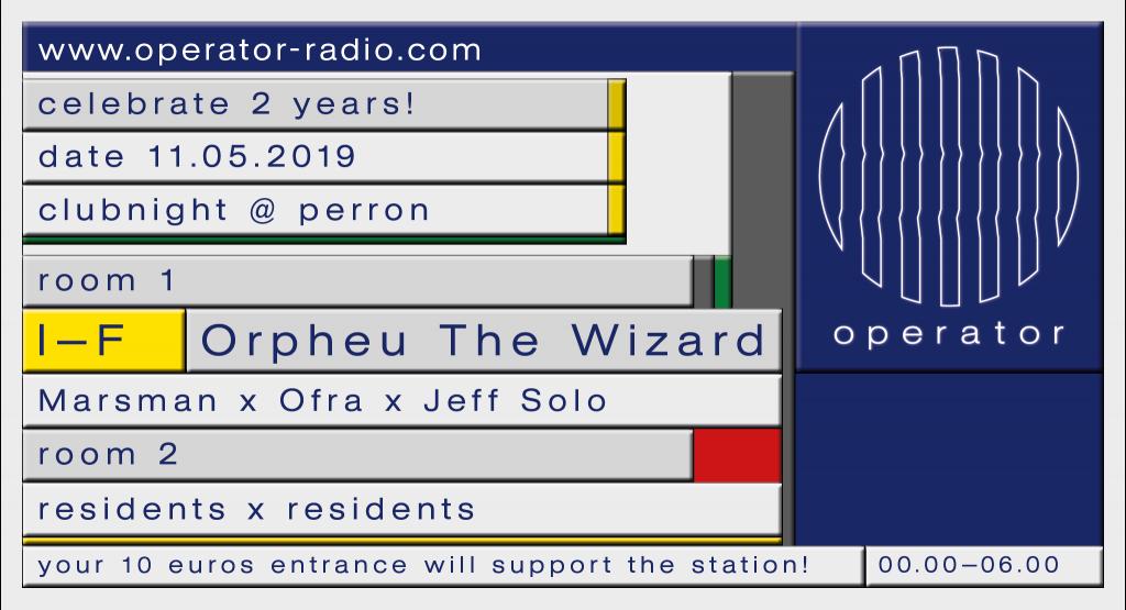 operator radio perron rotterdam